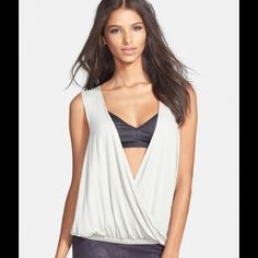 "Spotted while shopping on Poshmark: ""NWT Rayon Wrap Top in Cool Grey""! #poshmark #fashion #shopping #style #L is for Lover #Tops"