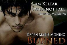 Christian from Karen Marie Moning's Burned book