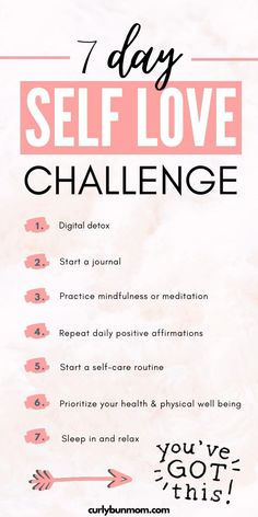 Positive Quotes For Life Encouragement, Positive Quotes For Life Happiness, Vie Positive, Positive Self Affirmations, Love Challenge, Happiness Challenge, Self Care Bullet Journal, Vie Motivation, Self Care Routine