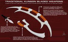 Klingon Bladed Weapons Tech Readout by unusualsuspex on DeviantArt Star Trek Rpg, Star Trek Klingon, Star Trek Starships, Star Wars, Star Trek Ships, Stargate, Science Fiction, Klingon Empire, Star Trek Uniforms