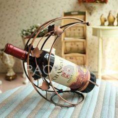 $39.99 Free Shipping Wrought Iron Wine Shelf on http://www.paccony.com/product/Wrought-Iron-Wine-Shelf-22240.html#