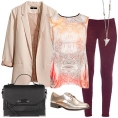 love this look pulled from LouLou for fall - Ted Baker London, blazer-H&M, Yoga Jeans, accessories - Wolf Circus, Mackage, Call it Spring. Yoga Jeans @ Sand'n'Sea Boutique