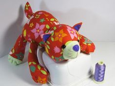 Looking for your next project? You're going to love CAT Pattern - Cat Plush Toy by designer Funky Friends F.