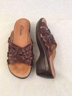 78bd13d2af97 My Clarks Sandals by Clark s! Size 5.5 for   25.00. Check it out