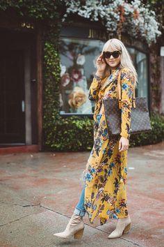 Cardigan - Windsor | Top - Forever21 | Jeans - LEVI's via ShopBop | Booties - Kendall & Kylie 'Felicia Boot' via Nordstrom Rack | LV Luco handbag - The Lady Bag | Choker - Forever21