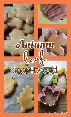 How to make lovely light shortbread biscuits.