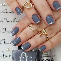 Manicure E Pedicure, Mani Pedi, Nail Bar, Pretty Nails, Hair And Nails, Nail Colors, Nail Designs, Nail Polish, Make Up