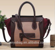 Classic genuine leather wholesale smiley fashion handbags wholesale 127b8abf12444
