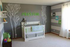 Chambres de bébé, un peu d'inspiration pour les futures mamans - Ambiance grise