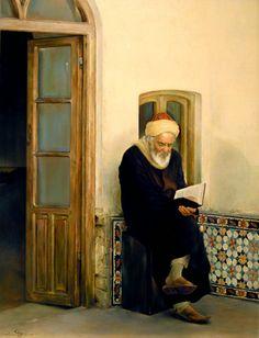 Figurative, Figurative Painter, Iranian Paintings, Morteza Katouzian, Realistic Paintings, famous artist, Oil paintings,