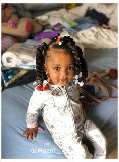 Cute Mixed Babies, Cute Black Babies, Black Baby Girls, Beautiful Black Babies, Cute Baby Girl, Black Kids, Lil Girl Hairstyles, Bandana Hairstyles, Black Women Hairstyles