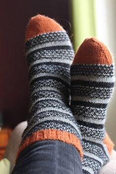 Socks for Norma pattern by Miss Wrap 'n' Turn