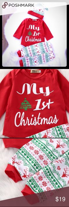 🎅🏼NEW CHRISTMAS OUTFITS🎅🏼 Make your new baby cute this Christmas!! Matching Sets