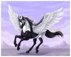Pegasus Fantasy Myth Mythical Mystical Legend Wings Enchantment Pégase