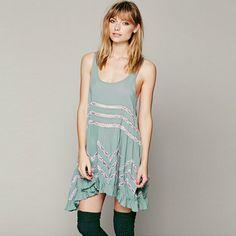 Modern Flouncing  Dress #comfortable