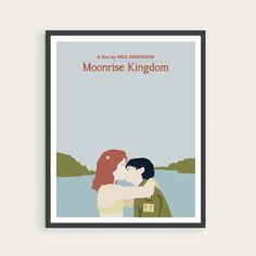 MOONRISE KINGDOM Suzy & Sam Wes Anderson Movie Poster Art.   #MoonriseKingdom #WesAnderson #movie #illustration #poster #print #Film #GraphicDesign #artprint #drawing #vector #vectorart #cinema #graphic