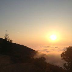 sunrise on Mt Tam, Fall equinox 2012 #MillValley #marin