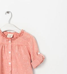 ZARA - KIDS - SHIRT WITH ROLL-UP SLEEVES
