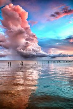 Serenity Pantone 2016 is said: shade of the yr is. Rose Quartz and Serenity blue. Sky, clouds, and Beautiful World, Beautiful Places, Beautiful Scenery, Beautiful Sunset, Cheap Beach Vacations, Belle Photo, Pretty Pictures, Free Pictures, Beautiful Sky Pictures