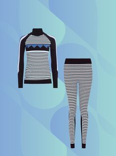 This Best-Selling Set Is Your Winter Saving Grace #refinery29  http://www.refinery29.com/sweaty-betty-best-sellers#slide-2  Sweaty Betty Mountain Top Seamless Ski Leggings, $105, available at Sweaty Betty....