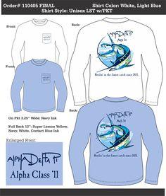 Alpha Delta Pi Alpha Class '11  http://www.greekt-shirtsthatrock.com/
