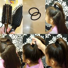 Cheer Ponytail, Half Ponytail, Cheer Hair, High Ponytails, Cheer Mom, Cheer Makeup, Competition Hair, Belle Hairstyle, Girl Hair Dos