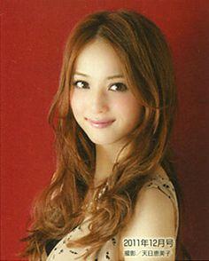"Model / Nozomi Sasaki. Japanese girls fashion magazine ""non-no"". girlish & cute hair style. 2011."