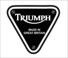 Triumph Motorcycle Logo Vector Triumph Motorbikes, Triumph Bobber, Triumph Motorcycles, Vintage Motorcycles, Motorcycle Patches, Motorcycle Logo, Motorcycle Posters, Motorcycle Engine, Triumph Logo