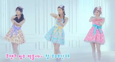 """Baskin Robbins"" Ice Cream Company Releases Individual MV's for Orange Caramel's ""Abing Abing"" 