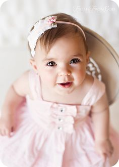 Baby Headbands Vintage Headband Baby by LittleDivaBoutique on Etsy, $12.00