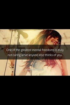 Quote from Danielle Peazer. That's how I am. Talk all you want. I don't care.