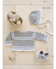 Knitting For Kids, Baby Knitting Patterns, Crochet Patterns, Crochet Baby Clothes, Baby Hats, Knit Crochet, Wool, Baby Models, Baby Mold