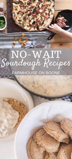 Mexican food recipes 105693922493687904 - These quick and easy no-wait sourdough recipes require no fermentation or proofing. Just mix together and make. Source by farmhouseonboone Mexican Food Recipes, Real Food Recipes, Dessert Recipes, Cooking Recipes, Breakfast Recipes, Mexican Breakfast, Pancake Recipes, Crepe Recipes, Gourmet Desserts