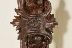 Coppia di cornici barocche - particolare
