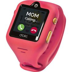dokiWatch S Kids GPS Smartwatch with Video Calling (Dazzle Pink) for girls The Easiest, Smartest, Screen-Free Way to Stay Connected With Your Kids Best Kids Watches, Cool Watches, Unusual Watches, Popular Watches, Baby Toys, Kids Toys, Phone Watch For Kids, G Shock Watches, Hygiene
