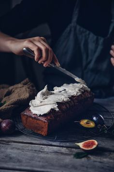 Gluten-free Carrot Fig Cake with Cream Cheese Frosting
