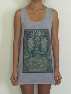 Pearl Jam Vest Tank Top Singlet TShirt Nirvana by RuayClothing, ฿399.00