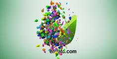 Colorful Particles Logo Reveal Optical Flares, Logo Reveal, Colorful Backgrounds, Drop, Projects, Fat, Stylish, Random, Log Projects