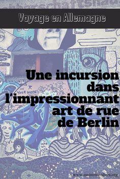 Berlin est un vivier de street art sous toutes ses formes, en particulier dans les quartiers branchés de Friedrichshain et Kreuzberg. Étant donnée l'omniprésence des graffitis dans la ville, il faut s'attendre à croiser un bon millier d'oeuvres avant de tomber sur la perle rare.
