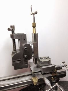MOWRER WW LATHE TOOLS: custom milling rig for watchmakers lathe