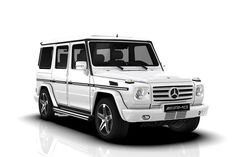 Mercedes G Class White Mercedes g cla