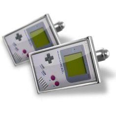 """Neonblond Cufflinks """"video game, 80's"""" - cuff links for man NEONBLOND Cufflinks. $29.90. Standard Size is approximately 19mm x 12mm. We have more then 4000 different Cufflinks. Comes with our Free Velvet / Satin Bag. Unique Gift for the Modern Classic Man. Products are Assembled in America. Save 50%!"""