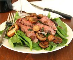 Warm Steak Salad 4 @dreamaboutfood