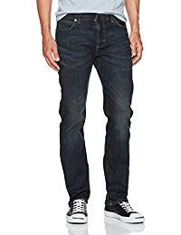 Online shopping for Jeans - Men from a great selection at Clothing & Accessories Store. Loose Fit Jeans, High Jeans, Lee Jeans, Men's Jeans, Name Brand Jeans, Mens Fashion Magazine, Straight Cut Jeans, Athletic Fashion, Sport Pants
