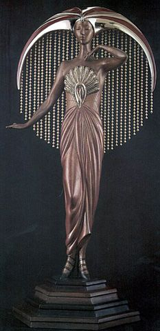 Erte Art Deco Museum of Sculpture. @Deidra Brocké Wallace