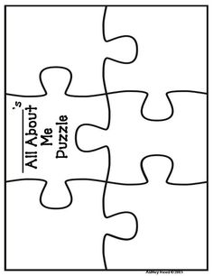 puzzle template- download into word and insert picture and