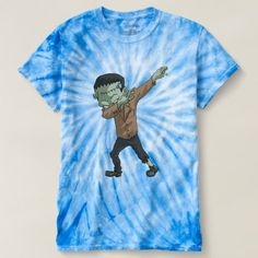 Frankenstein Dabbing Funny Halloween Dab Dance T-shirt - diy cyo customize create your own personalize