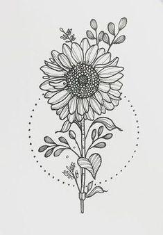 Resultado de imagem para desenho girassol