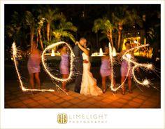 Ritz Carlton Sarasota, Bride and Groom, Sparklers, Hotel Wedding, Wedding Photography, Limelight Photography, www.stepintothelimelight.com