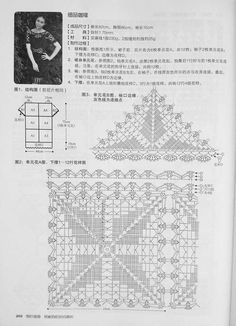 Graph to cocoa crochet tunic